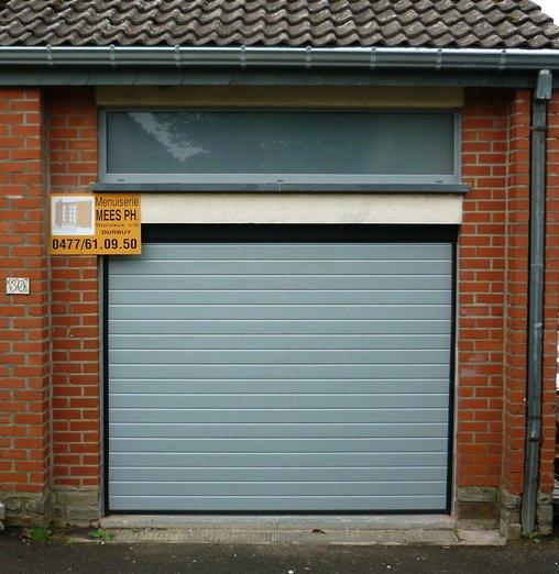 Porte de garage - Porte de garage sectionnelle industrielle ...